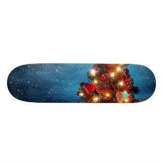 Shape De Skate 18,7cm Árvore de Natal - decorações do Natal - flocos de