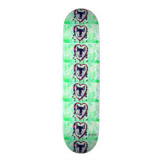 Shape De Skate 18,7cm Coletor ideal do lobo