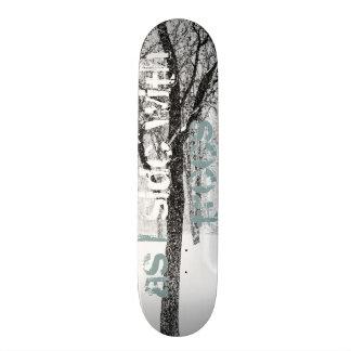 Shape De Skate 18,7cm como eu tomo partido das árvores