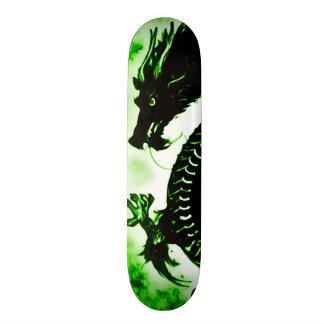 Shape De Skate 18,7cm Conselho do parque do suicídio do dragão da terra
