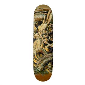 Shape De Skate 18,7cm Conselho feito sob encomenda do elemento do dragão