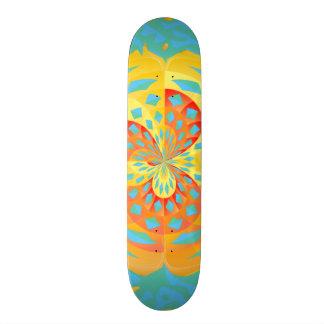 Shape De Skate 18,7cm Cores do verão