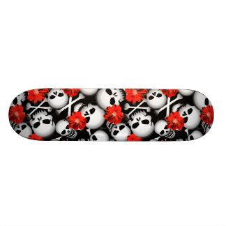 Shape De Skate 18,7cm Crânios e flores