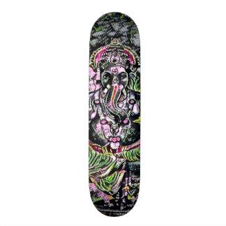 Shape De Skate 18,7cm Do elemento de néon da rua do giz de Ganesha