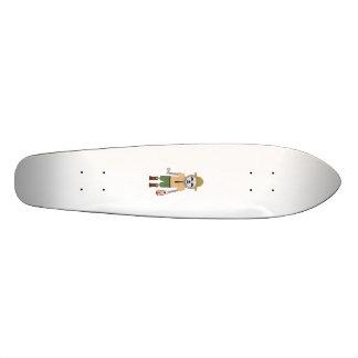 Shape De Skate 18,7cm Guarda florestal da preguiça com lâmpada Z2sdz