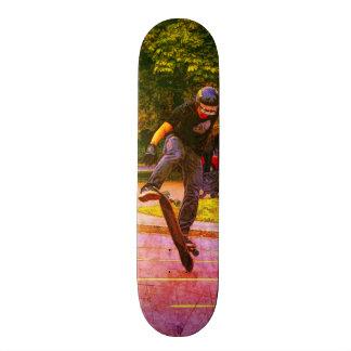 Shape De Skate 18,7cm Lançando a plataforma - skater