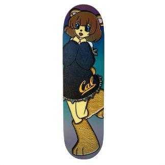 Shape De Skate 18,7cm Menina bonito do urso do Cal