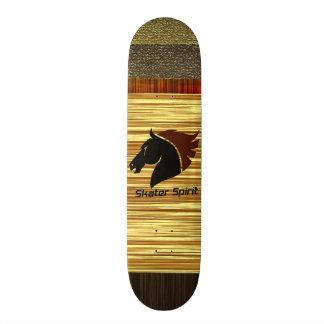 Shape De Skate 18,7cm Monopatim personalizante com modelo de madeira