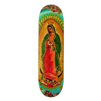 Shape De Skate 18,7cm Nossa Virgem Maria mexicana do santo da senhora
