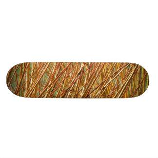 Shape De Skate 18,7cm O ouro do primavera ramifica teste padrão natural