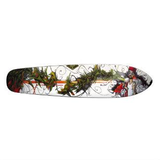 Shape De Skate 18,7cm O polegar verde - plataforma da arte Sk8 da rua