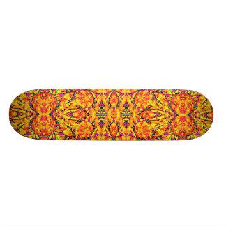 Shape De Skate 18,7cm Ornamentado vibrante colorido