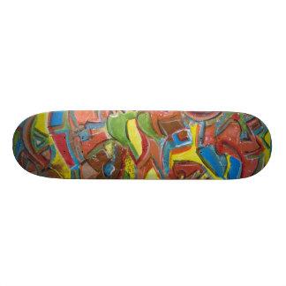 Shape De Skate 18,7cm Os conselhos Funky