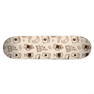 Shape De Skate 18,7cm Os feijões de café de Brown ilustraram o teste