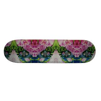 Shape De Skate 18,7cm Peônias abstratas