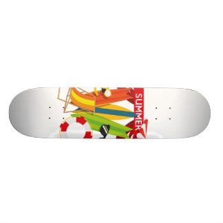 Shape De Skate 18,7cm Praia Watersports do verão