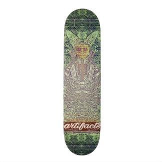 Shape De Skate 18,7cm produtos manufacturados - plataforma verde do