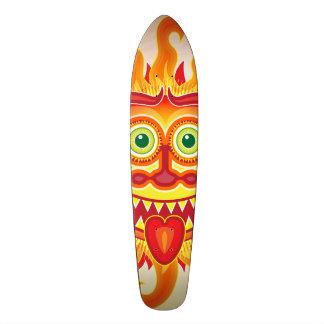 Shape De Skate 18,7cm Sol brilhante do verão que sorri e que cola a