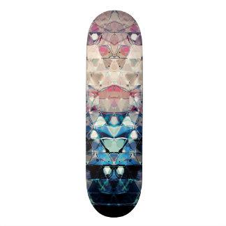 Shape De Skate 18,7cm Triângulos abstratos coloridos