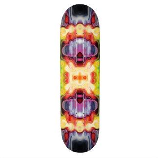 Shape De Skate 19,7cm Abstrato espectral refletindo