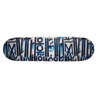 Shape De Skate 19,7cm Arte abstrata da rua dos grafites do Grunge