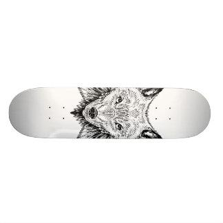 Shape De Skate 19,7cm asas do lobo