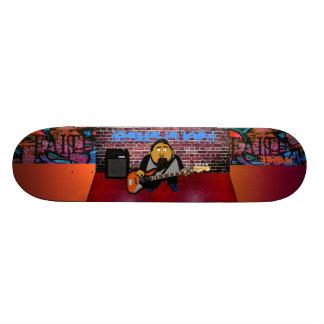 Shape De Skate 19,7cm Baixista cristão