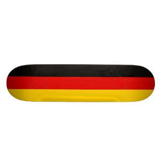 Shape De Skate 19,7cm Bandeira nacional de Alemanha