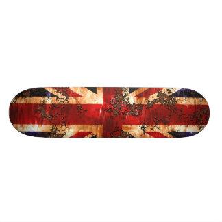 Shape De Skate 19,7cm Bandeira patriótica oxidada de Reino Unido