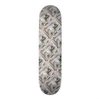 Shape De Skate 19,7cm Brushstrokes abstratos pintados Bulevar-Mão