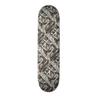 Shape De Skate 19,7cm Brushstrokes abstratos pintados Estrada-Mão da
