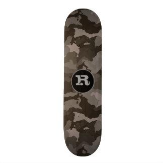 Shape De Skate 19,7cm Camuflagem w/Monogram das cinzas