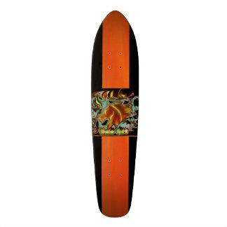 Shape De Skate 19,7cm Cobres monopatim genial preto com logótipo