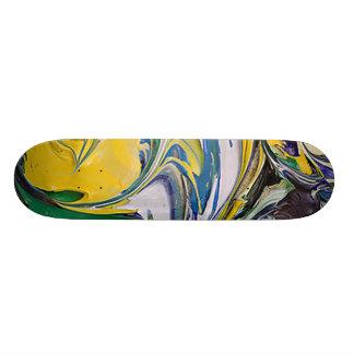 Shape De Skate 19,7cm Derramar #4 da cor