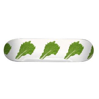 Shape De Skate 19,7cm Folha do verde da comida do pulso aleatório