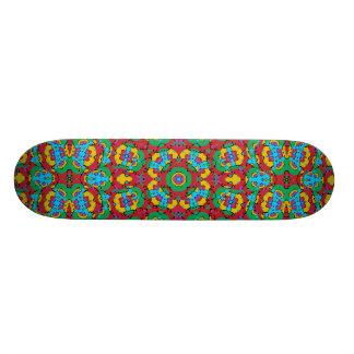 Shape De Skate 19,7cm Impressão colorido geométrico