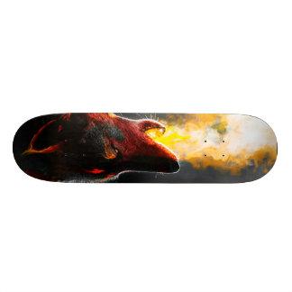 Shape De Skate 19,7cm Lobo do fogo