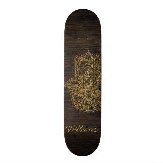 Shape De Skate 19,7cm Mão de HAMSA do design do amuleto do símbolo de