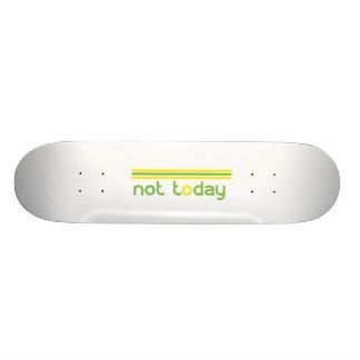 Shape De Skate 19,7cm Não hoje engraçado