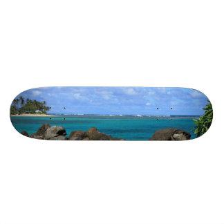 Shape De Skate 19,7cm O conselho tropical do escape da ilha