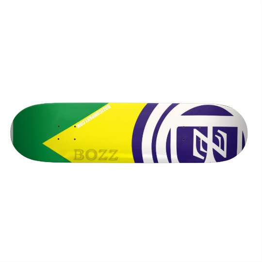 Shape De Skate 19,7cm Shape BOZZco. (ref.05)