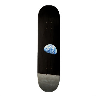Shape De Skate 19,7cm terra do universo do espaço da lua