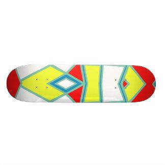 Shape De Skate 20,6cm #581 abstrato