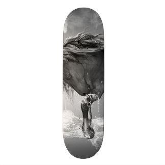 Shape De Skate 20,6cm Água potável bonita do cavalo