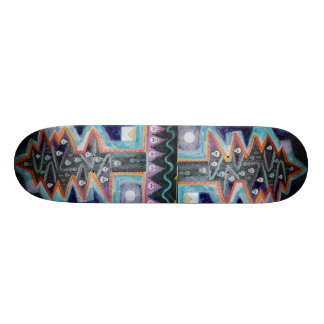 Shape De Skate 20,6cm Árvore escura do crânio