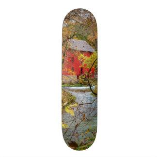 Shape De Skate 20,6cm Beco através das madeiras