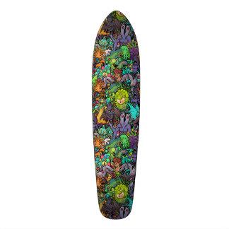 Shape De Skate 20,6cm Bestiário de Cthulhu Lovecraft Mythos Chibi