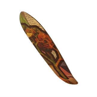 Shape De Skate 20,6cm Colagem bonita do Fractal de um outono de Origami