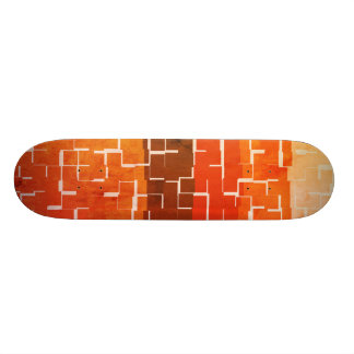 Shape De Skate 20,6cm Cores rústicas legal do outono