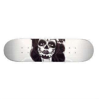 Shape De Skate 20,6cm Crânio gótico